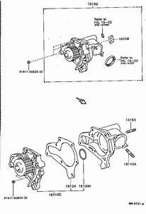 Toyota Celica Engine Water Pump