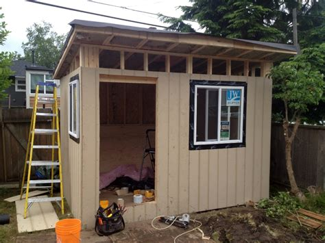 Backyard Office by Vancouver Contemporary Shed Backyard Office Vancouver