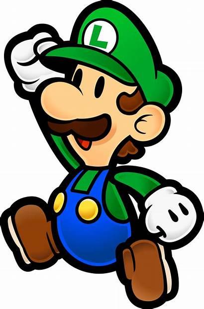 Luigi Paper Wikia Wiki Death