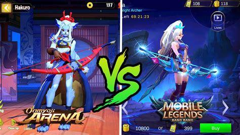 Onmyoji Arena Vs Mobile Legends