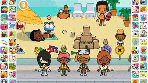 toca vacation toca boca games play   beach youtube