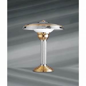 Lampe Art Deco : lampe poser art deco salustra ~ Teatrodelosmanantiales.com Idées de Décoration