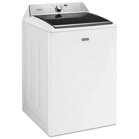 high efficiency washer mvwb865gw maytag 5 2 cu ft high efficiency top load washer