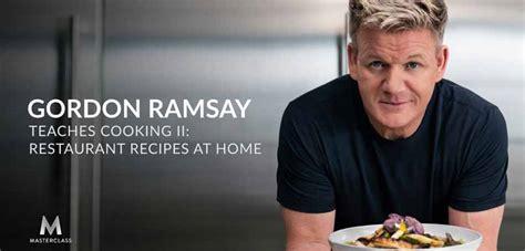 gordon ramsay masterclass learning cooking ii