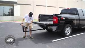 Pickup Bed Extender how to install the darby extend a truck bed extender youtube