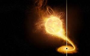 Uzay Kazası >> Şanslı yıldız kara delikle çarpışmaktan son ...