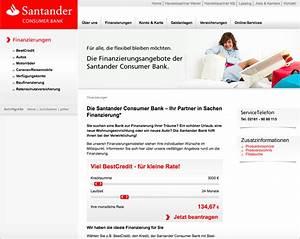 Santander Bank Kredit Erfahrungen : santander consumer bank finanzierung berblick ~ Jslefanu.com Haus und Dekorationen