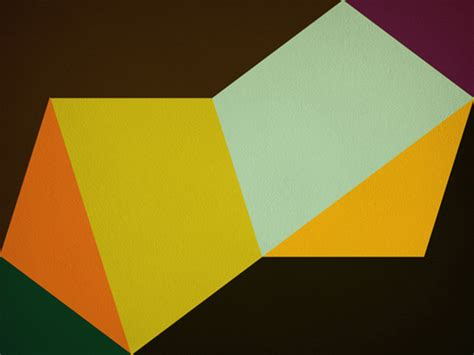 hard edge painting geometric abstraction  gary andrew