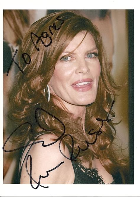 rene russo rachel ray my celebrity autographs