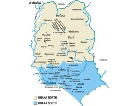 Bangladesh Metro Map