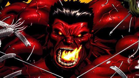 She Hulk Wallpaper Supervillain Origins Red Hulk Youtube