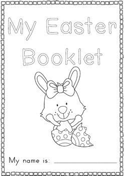 easter reading  writing worksheets distance learning