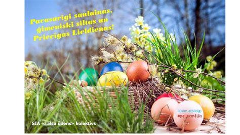 Priecīgas Lieldienas! | SIA