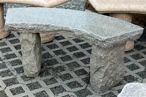 steinbank stuttgart aus granit fur den garten With französischer balkon mit garten steinbank