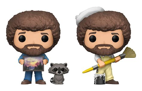 Funko Pop! Bob Ross Series 2 Vinyl Figures