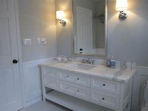 blue gray paint contemporary bathroom benjamin moore With grey painted bathrooms
