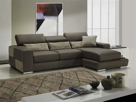 canape angle cuir taupe domino canape cuir vachette couleur taupe coussins marron