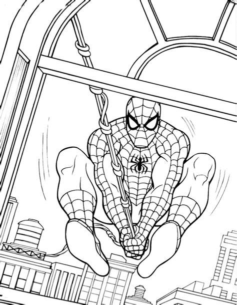 lusso disegni da colorare spiderman da stampare migliori