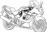 Coloring Motor Bikes Popular sketch template