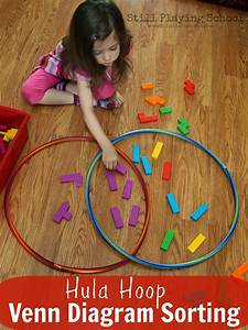 Hula Hoop Venn Diagram Sorting