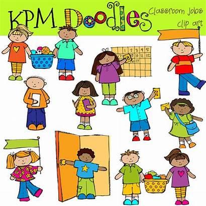 Classroom Clipart Clip Helpers Jobs Cliparts Digital