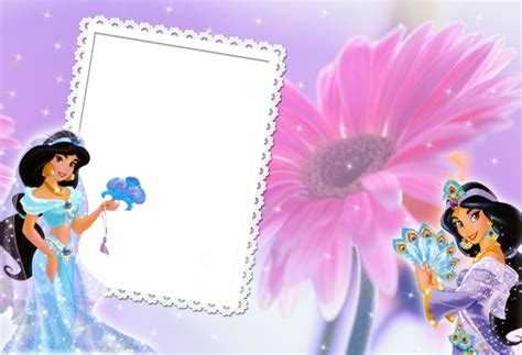 princess background photo frame picture