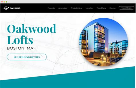 commercial real estate website templates commercial real estate website design sharplaunch