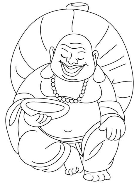 Boedha Kleurplaat by Buddha Coloring Page Coloring Home