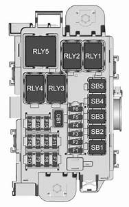 Buick Encore  2018   U2013 Fuse Box Diagram