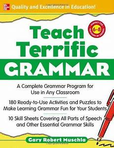 Bestseller Books Online Teach Terrific Grammar  Grades 6