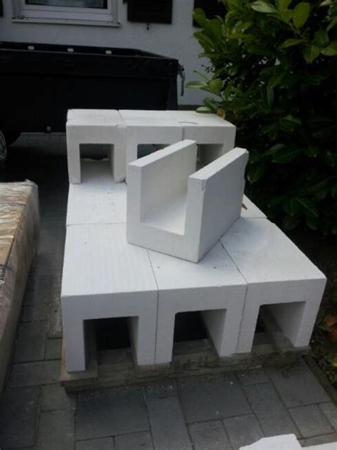 Porenbeton Fuer Den Hausbau by Porenbeton U Steine 24cm Breit Aus Einem St 252 Ck In