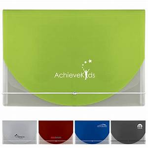 promotional color flap translucent document holder With promotional document holders
