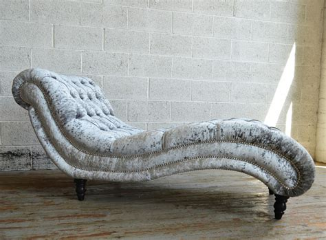 chaise a but bude velvet chesterfield chaise lounge abode sofas