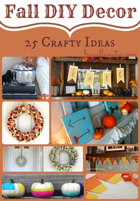 diy fall decor ideas diy fall decorations frugal fanatic