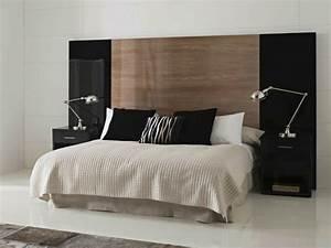 Tete De Lit Design : la t te de lit transformera la d co de votre chambre ~ Teatrodelosmanantiales.com Idées de Décoration