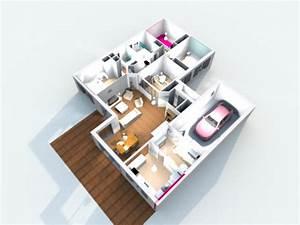 Application Maison 3d : construction de la maison en 3d avec sweet home 3d ~ Premium-room.com Idées de Décoration