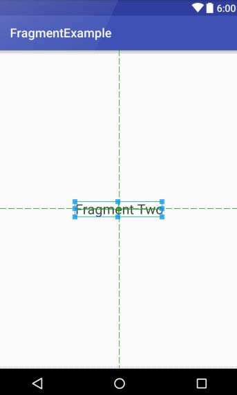 Is It Ok To Use Fragments In A Resume by Using Fragments In Android Studio An Exle Android 6