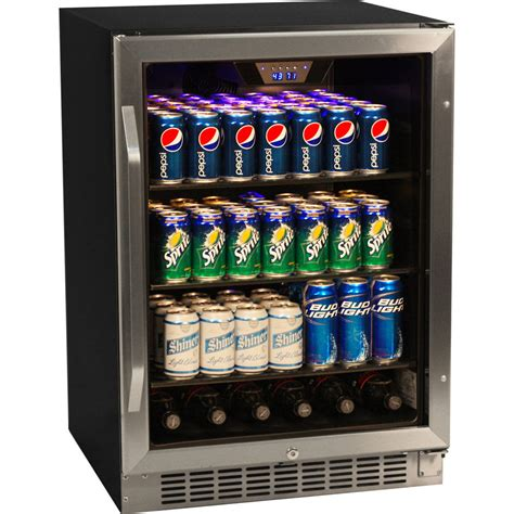 glass door beverage refrigerator 148 can glass door refrigerator stainless steel beverage