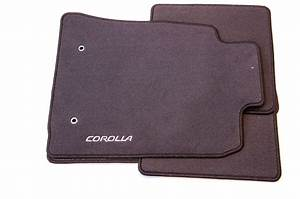 Genuine toyota corolla 4x carpet floor mats 450g 2004 for Original toyota floor mats