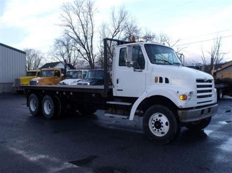 sterling flatbed trucks  sale  trucks  buysellsearch