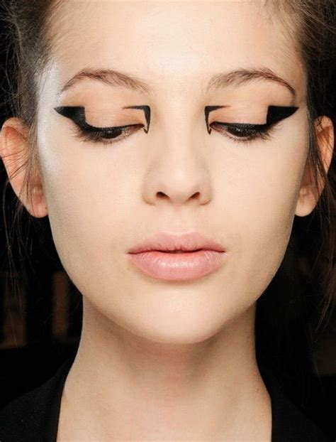 unique creative eyeliner styles  ideas