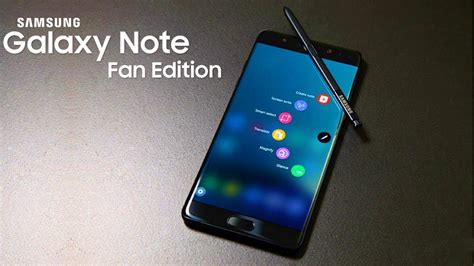 samsung galaxy note fe galaxy note fan edition samsung s refurbished version of