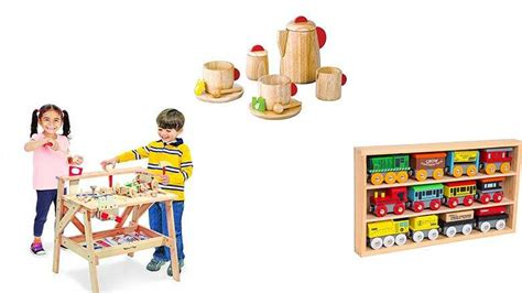 10 Best Wooden Toys For Kids (2018)