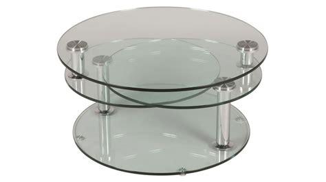 chaise bureau fly grande table basse en verre ronde 3 plateaux table basse
