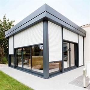 Rideau De Toit Pour Veranda : pergola veranda rideau ma pergola ~ Melissatoandfro.com Idées de Décoration