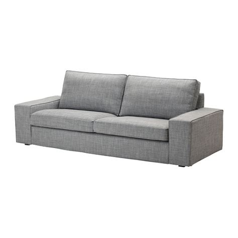 kivik sofa cover isunda gray ikea
