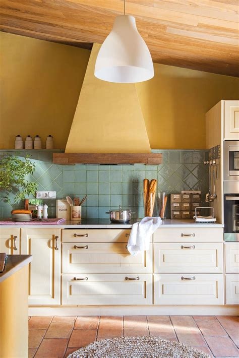 materiales  el salpicadero de la cocina