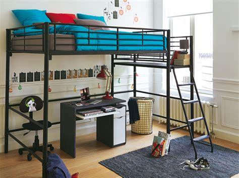 lit mezzanine avec bureau pour ado mezzanine chambre ikea chaios com