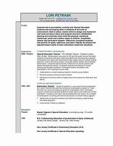 teacher resume templates easyjob With how to make cv for teaching