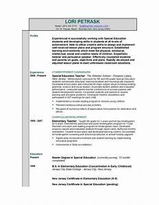teacher resume templates easyjob With how to write a teacher resume